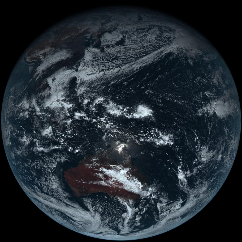 地球 Himawari-8_true-color_earth-re