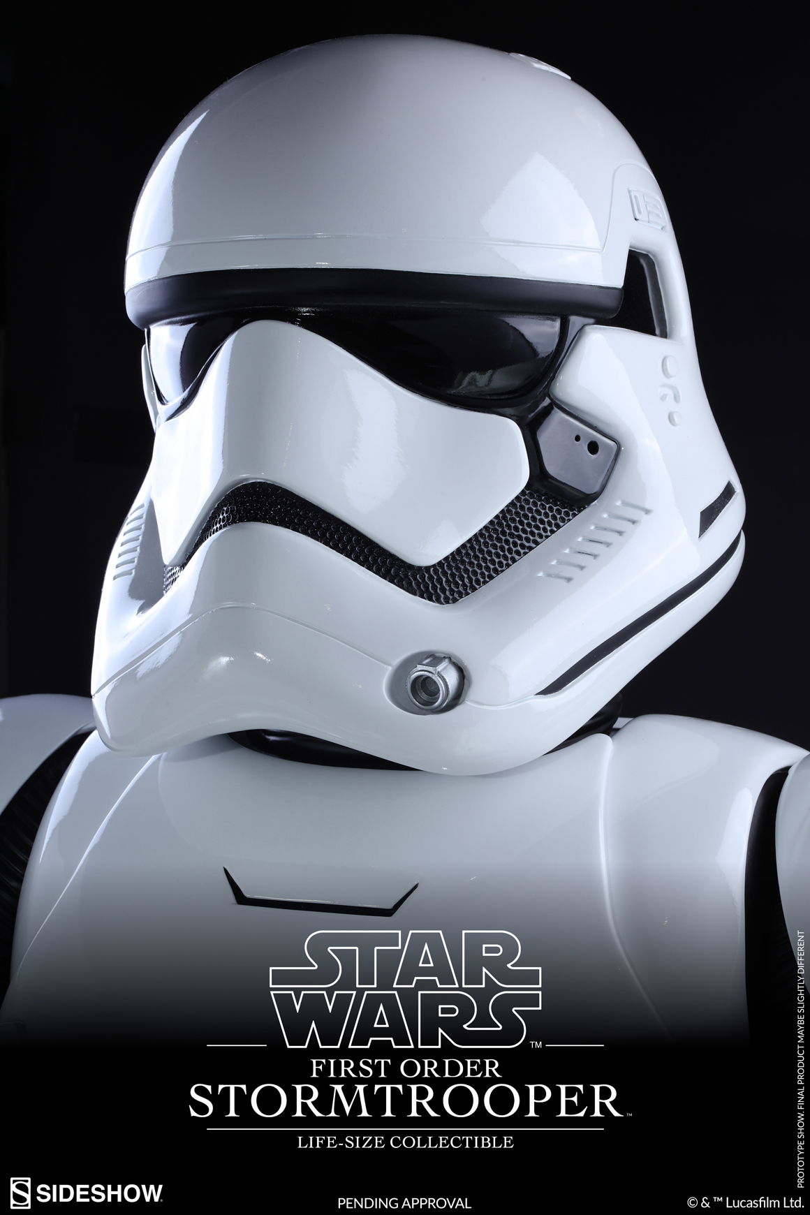 Hot Toys  & Sideshow Collectibles - Star Wars-The Force Awakens - First Order Stormtrooper Life-Size Collectible_PR10