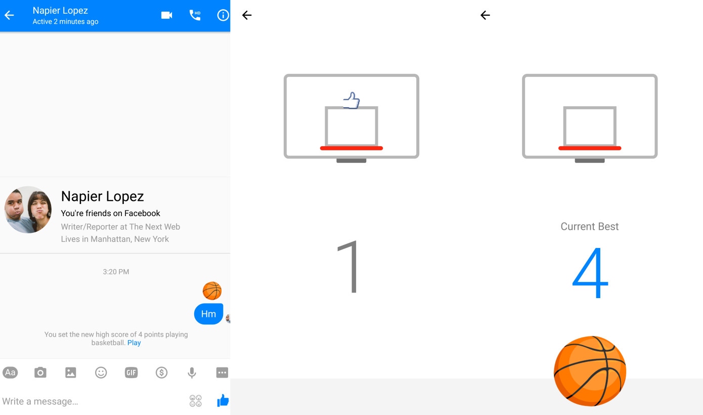 how to play connect 4 on facebook messenger