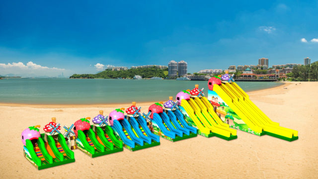 Discovery Bay Giant Inflatable Slide_low res