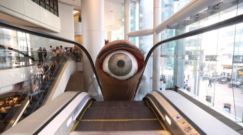 Freespace at Taikoo Place - Snuff Puppets Human Body Parts