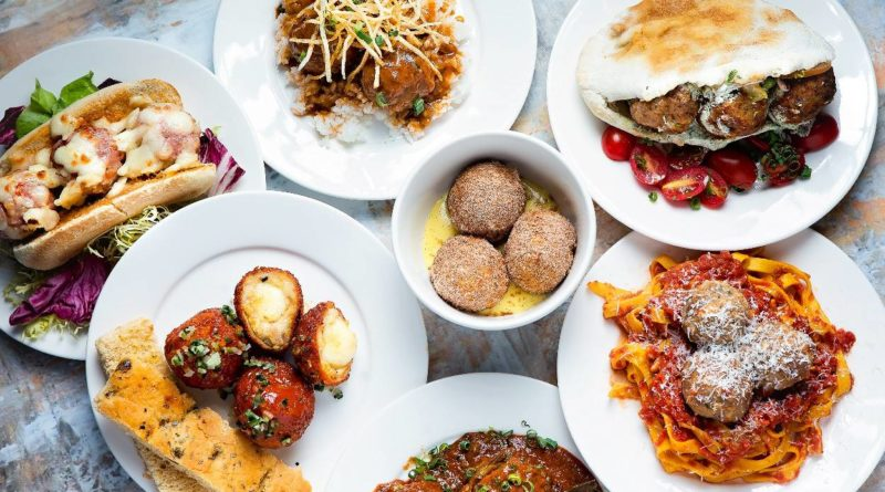 BALLS - Selection of dishes from BALLS