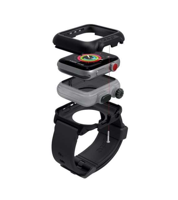 42MM S2S3 WATCH EXPLODED VIEW BLACK