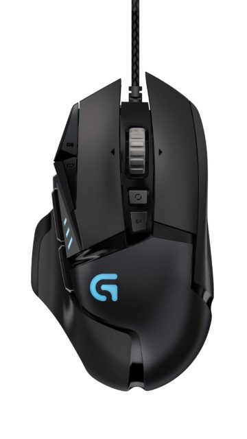 High_Resolution-G502 Proteus Spectrum RGB tunable gaming mouse