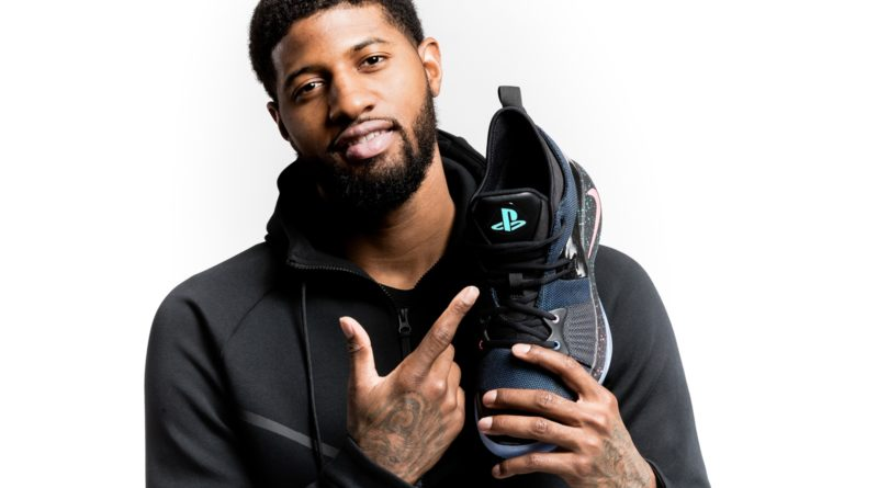 PlayStation X Nike Basketball  Paul George 推出 PG-2「PlayStation」配色波鞋