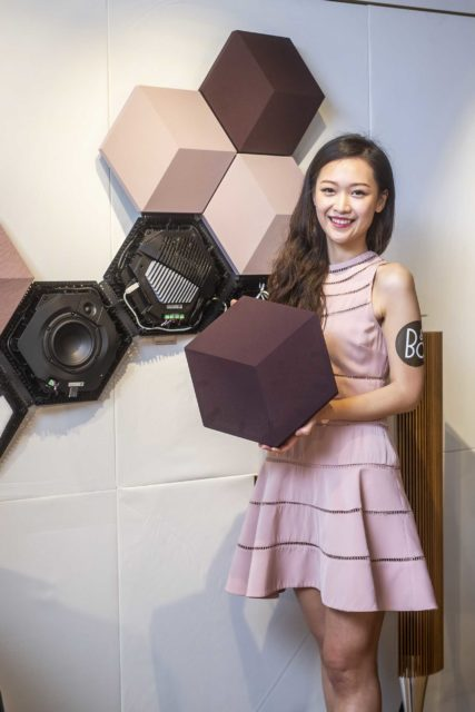 BeoSound Shape showcase with model