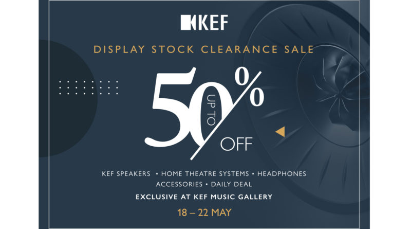 KEF Display Stock Sales