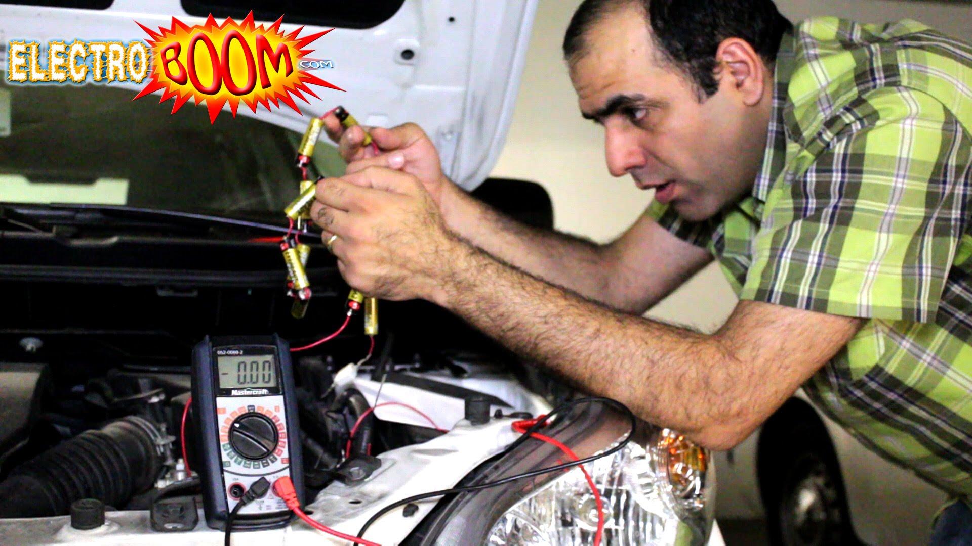無過江龍? 12 粒 AA 電池救死車