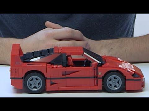 縮細版F40   LEGO 再現法拉利神器