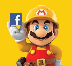 任天堂與 facebook 合作  《Super Mario Maker》由fb員工設計新關卡