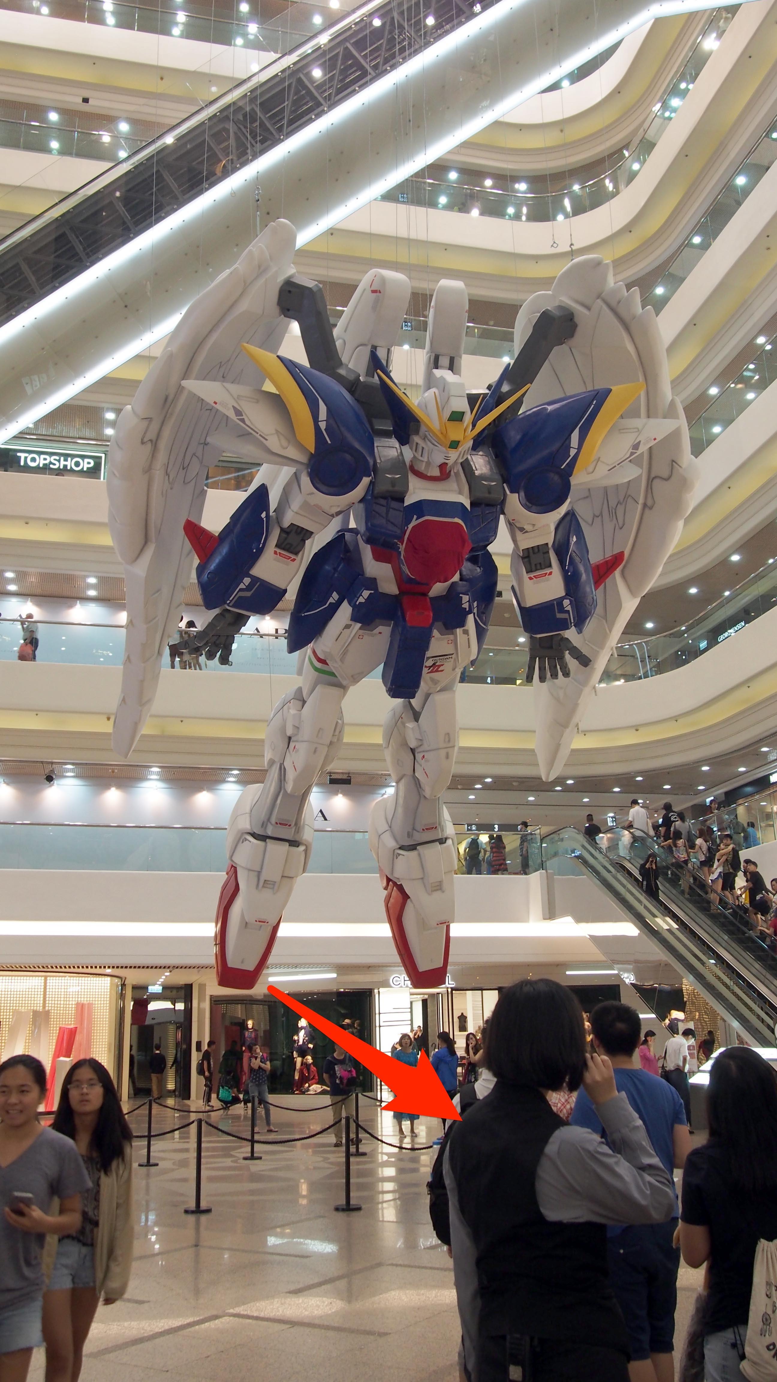 人少少影定先  1:3 Wing Gundam率先現時代