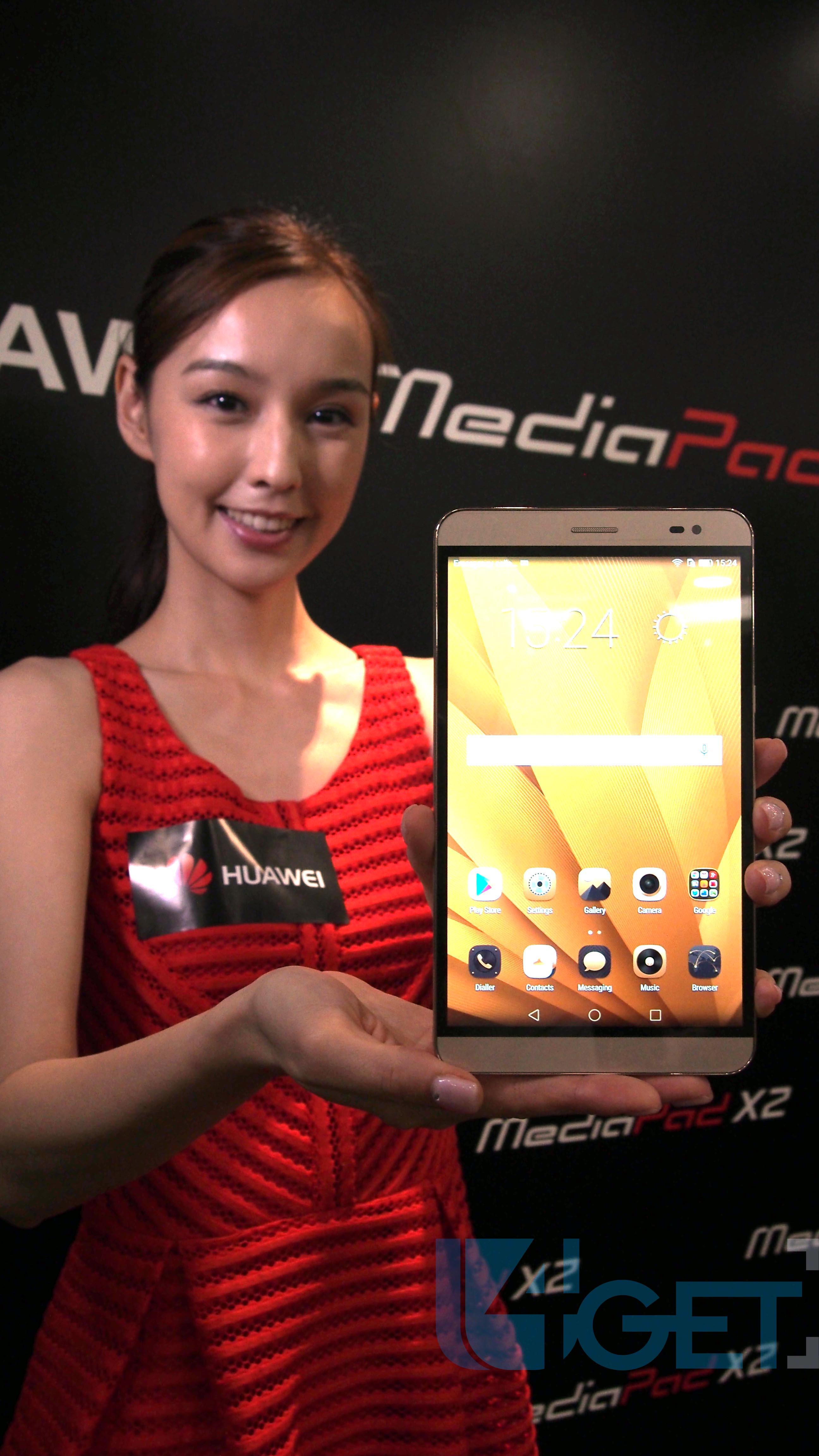 Huawei MediaPad X2 初試  「屏幕好靚,但部機實在太大」
