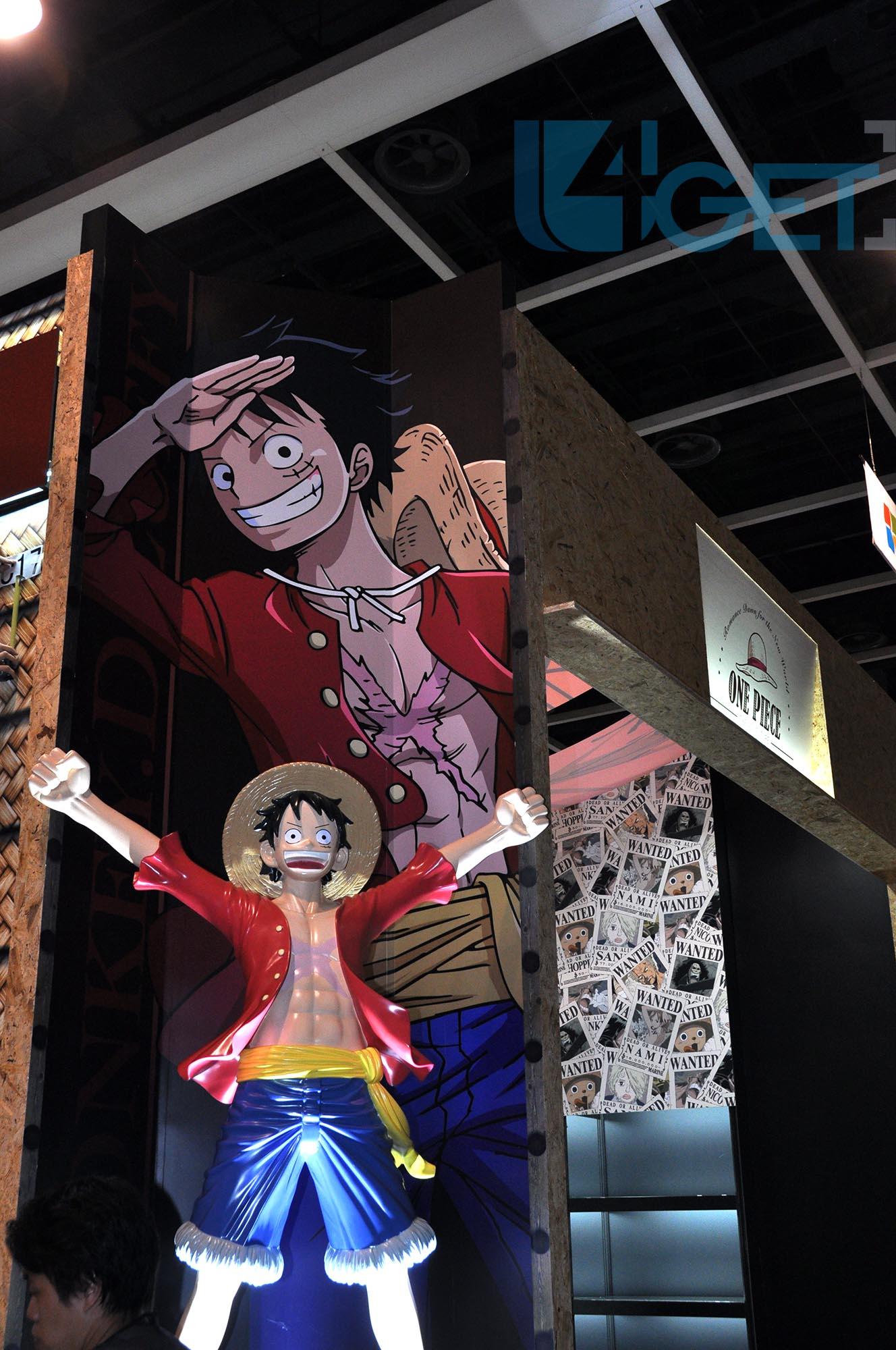 〔動漫節2015攻略〕 One Piece 香港背景海報