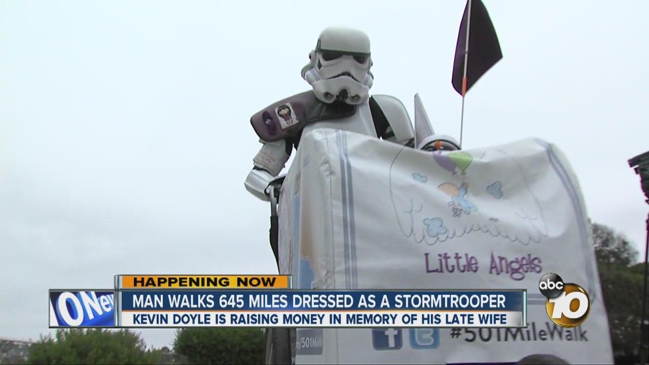 行足一千公里  Star Wars Stormtrooper 步行籌款念忘妻