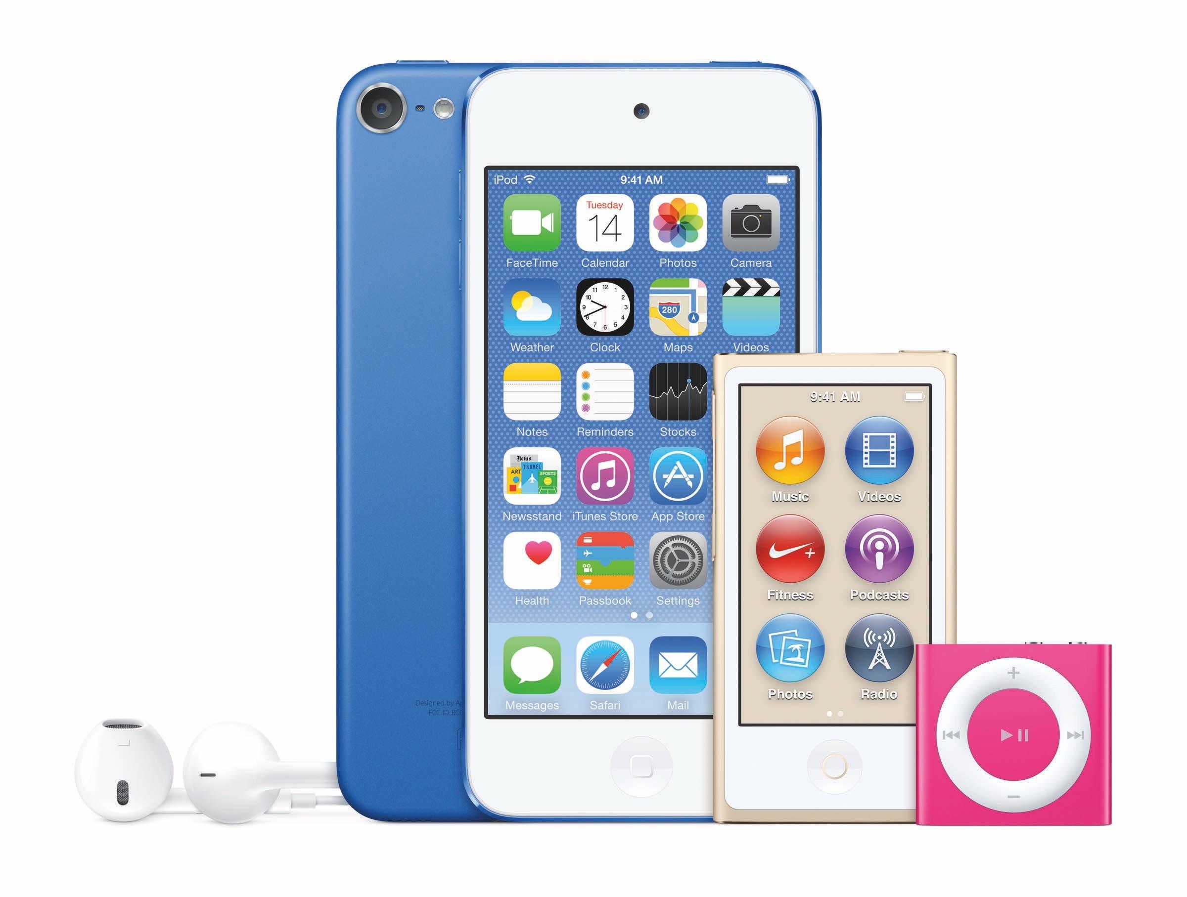 新色登場 機能更勁| iPod Touch第六代突然現身