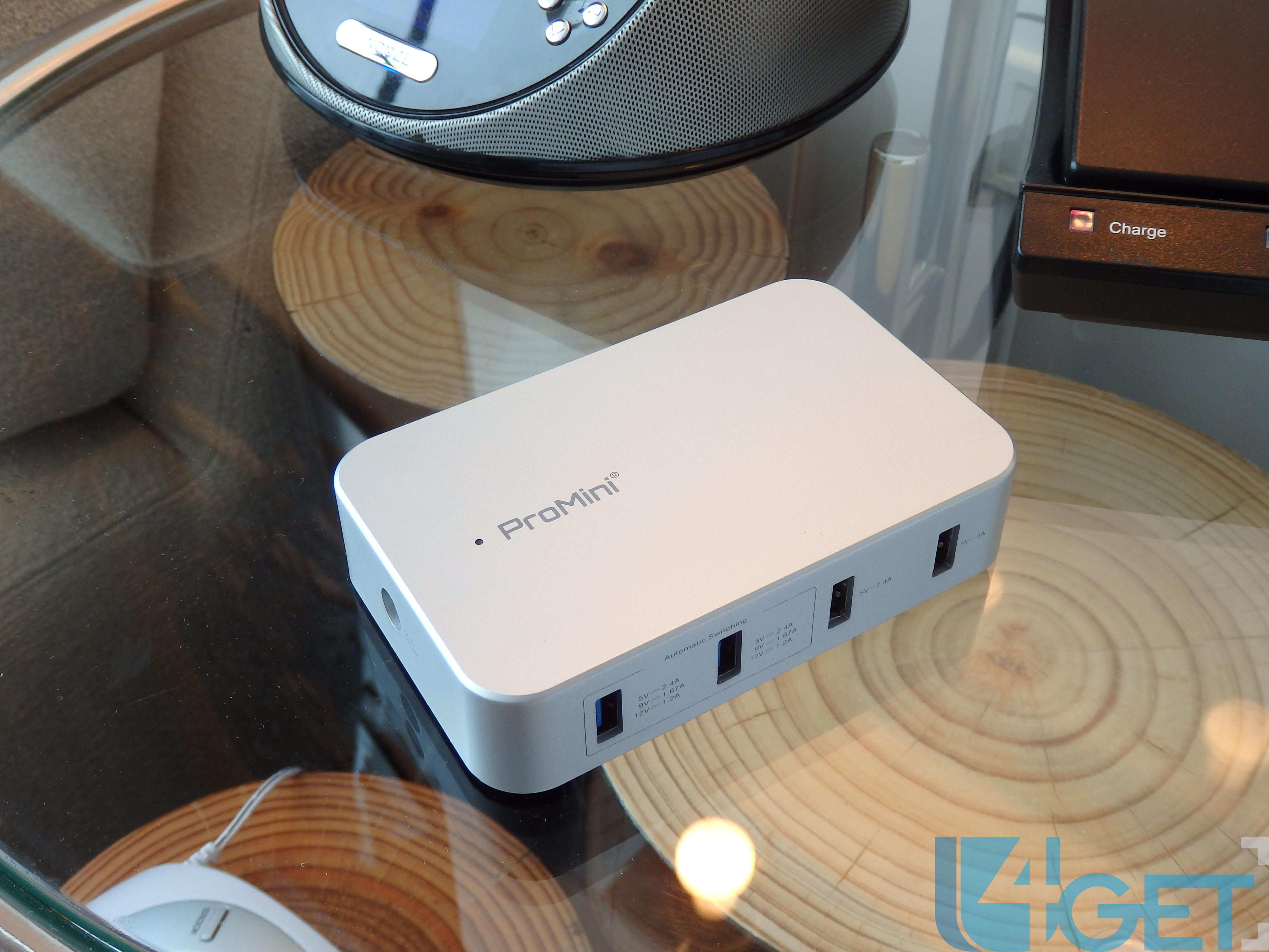 對應Quick Charge 2.0  超實用Magic-Pro USB充電一出四