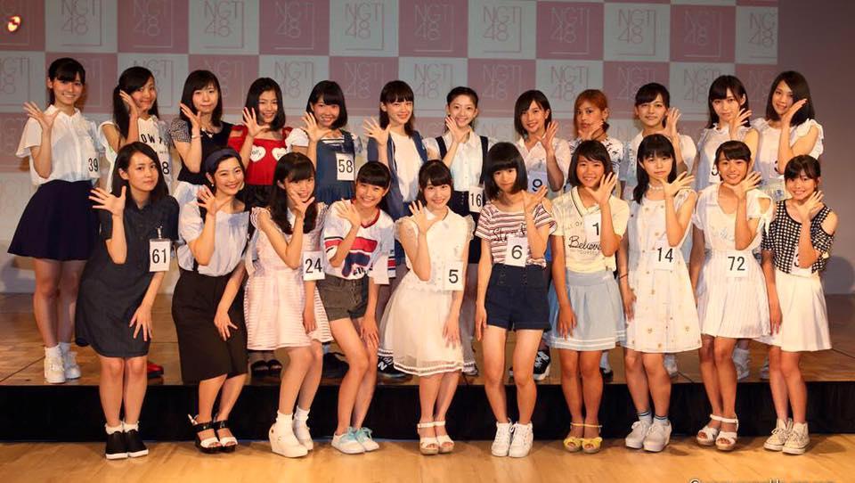 終於亮相!NGT48 一期生登場