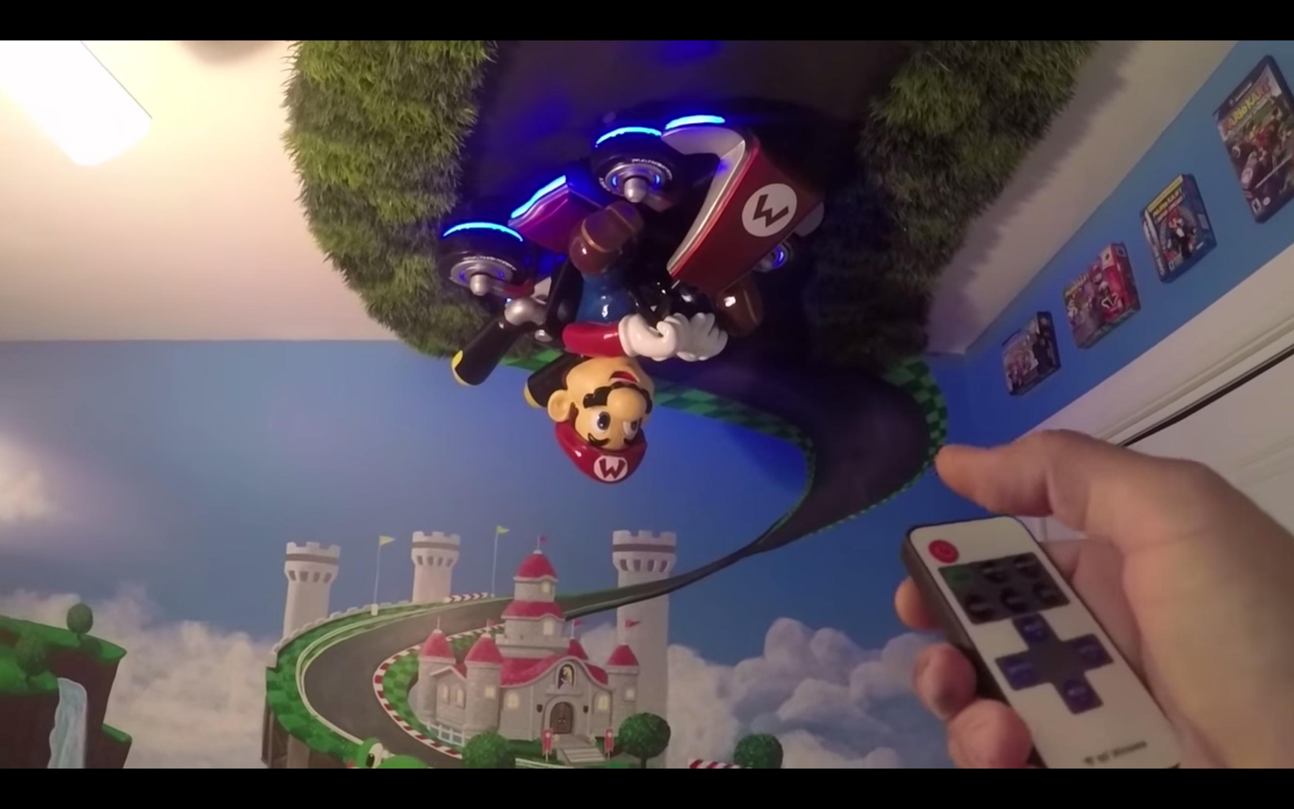 粉絲精心泡製| Mario Kart 嬰兒主題部屋