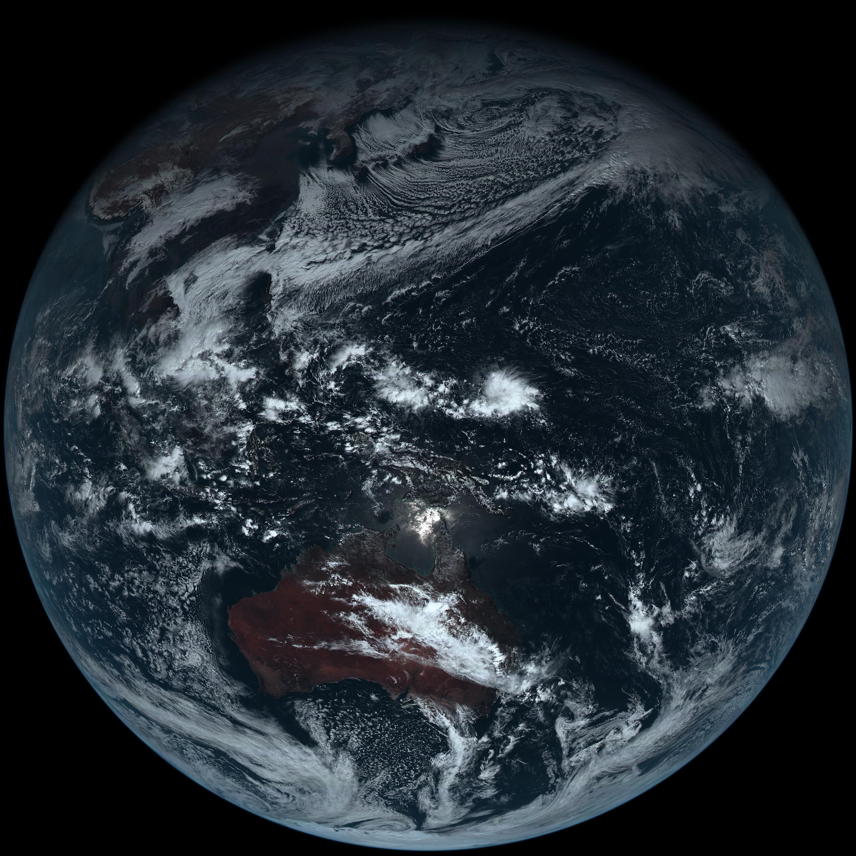 無藍海無綠地  |日本衞星拍無添加地球