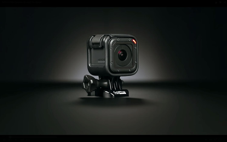 的骰防水小方塊    新 GoPro HERO4 Session下周到港