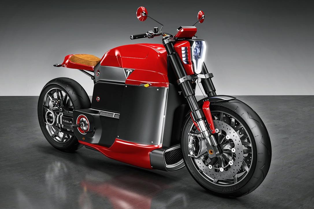環保電單車 |Tesla概念車瘋紅