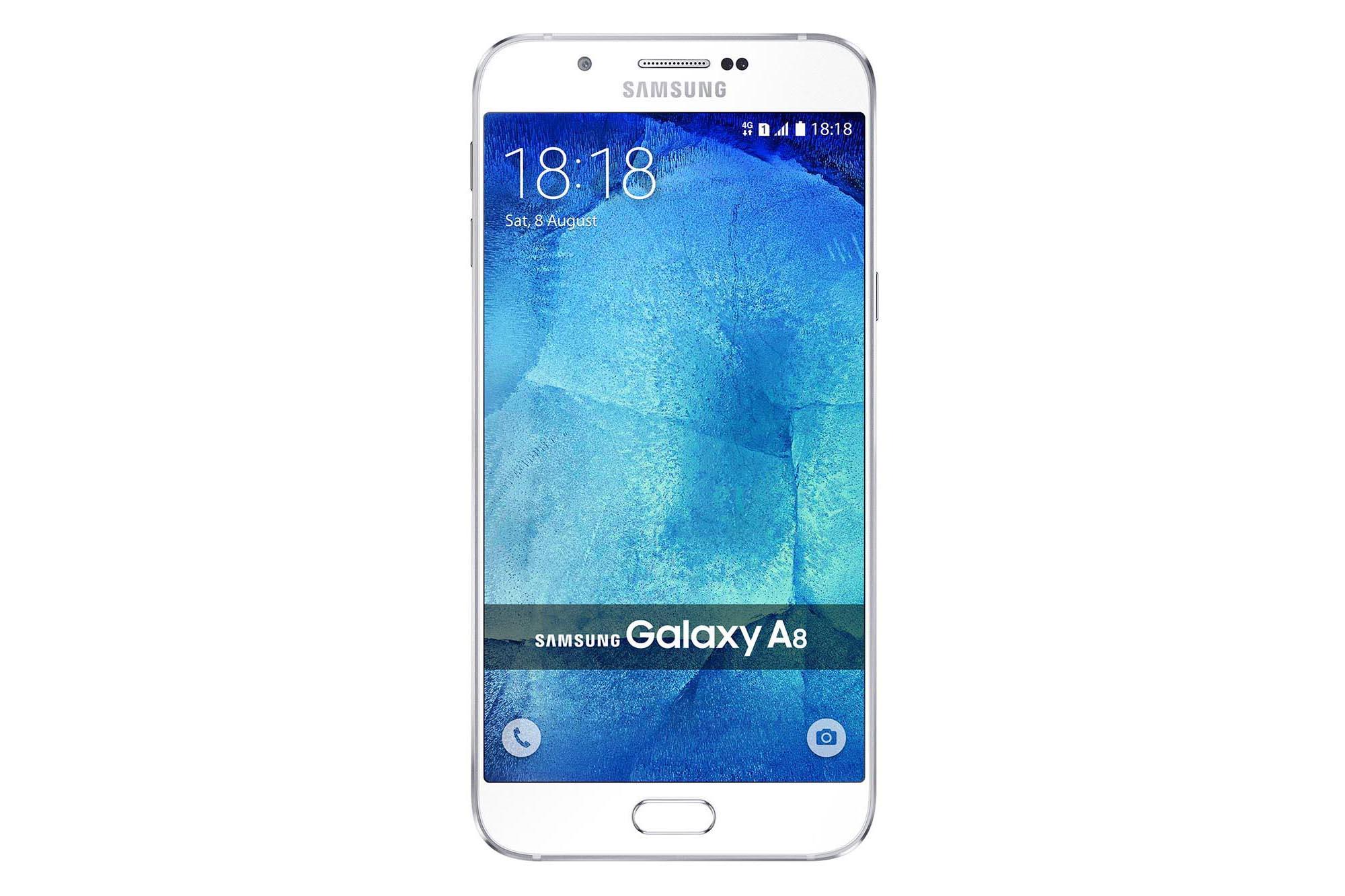 夠薄夠長氣支援指紋   Galaxy A8 搶國產機市場