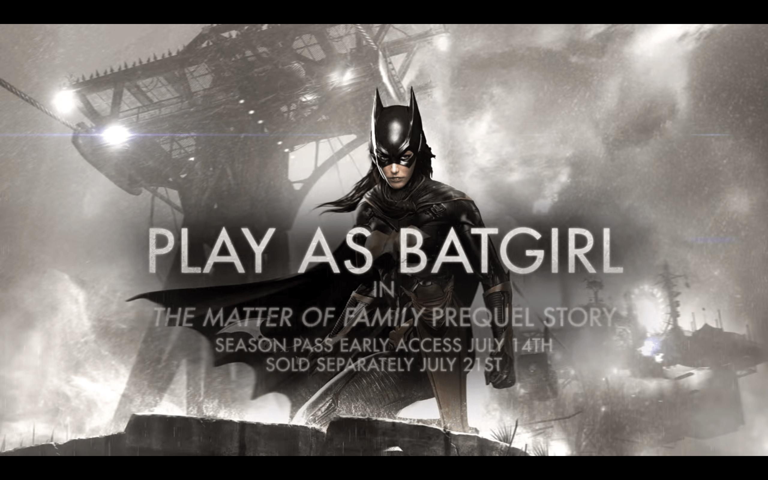 索爆蝙蝠女降臨  Batman首個DLC宣傳影片