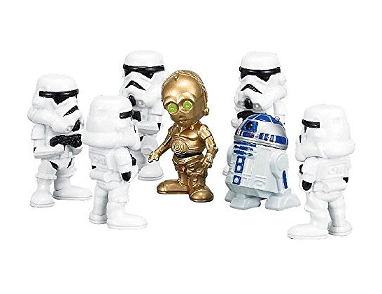 《 星球大戰 》層層疊  C-3PO、R2-D2、黑武士齊上陣