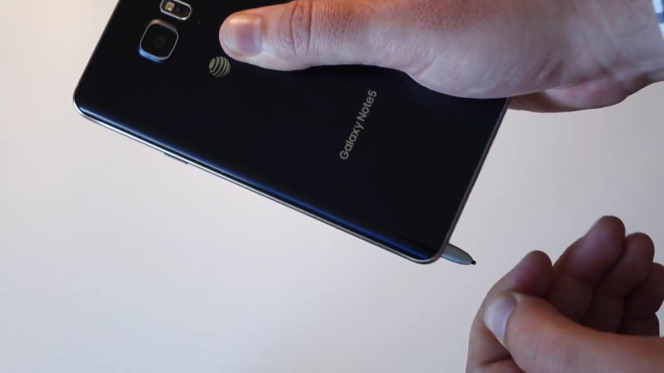 官方霸氣回應| Note 5設計問題 S Pen掉轉插即死