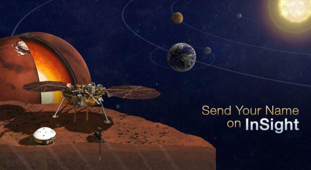 9月8日前登錄 | NASA 幫你留名到火星