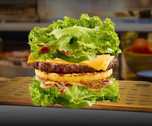 健康至上 澳洲麥當奴力推「 生菜漢堡 」