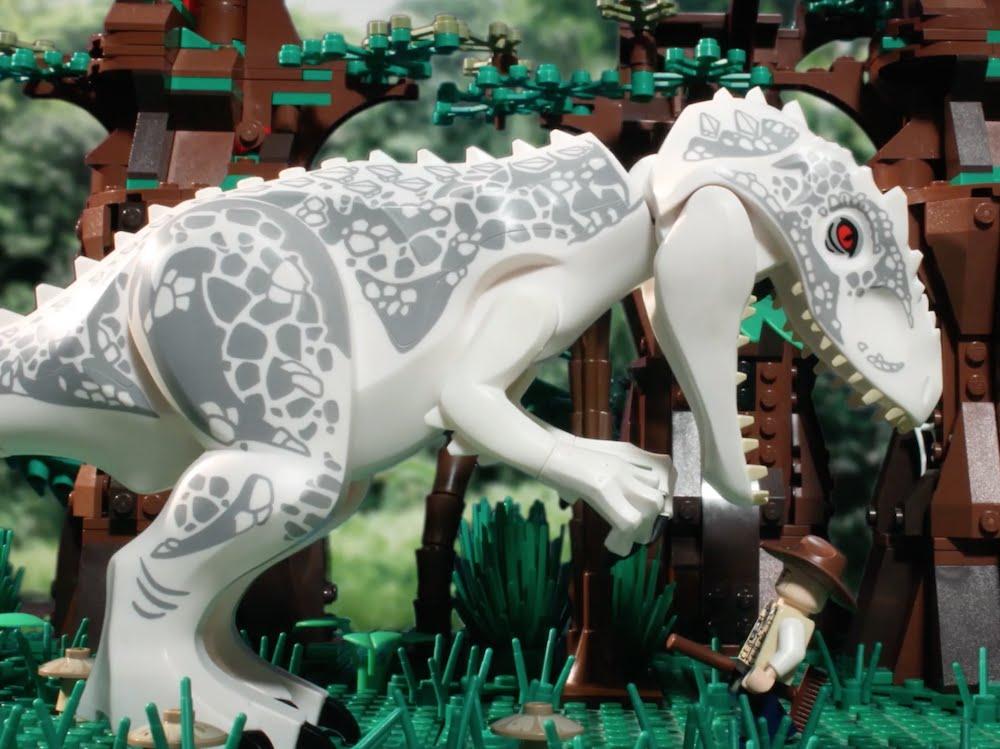 90秒睇《 侏羅紀世界 》 | LEGO人仔重新演譯