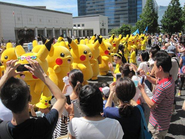 比卡超橫濱 大侵佔 |街頭街尾大跳萌舞