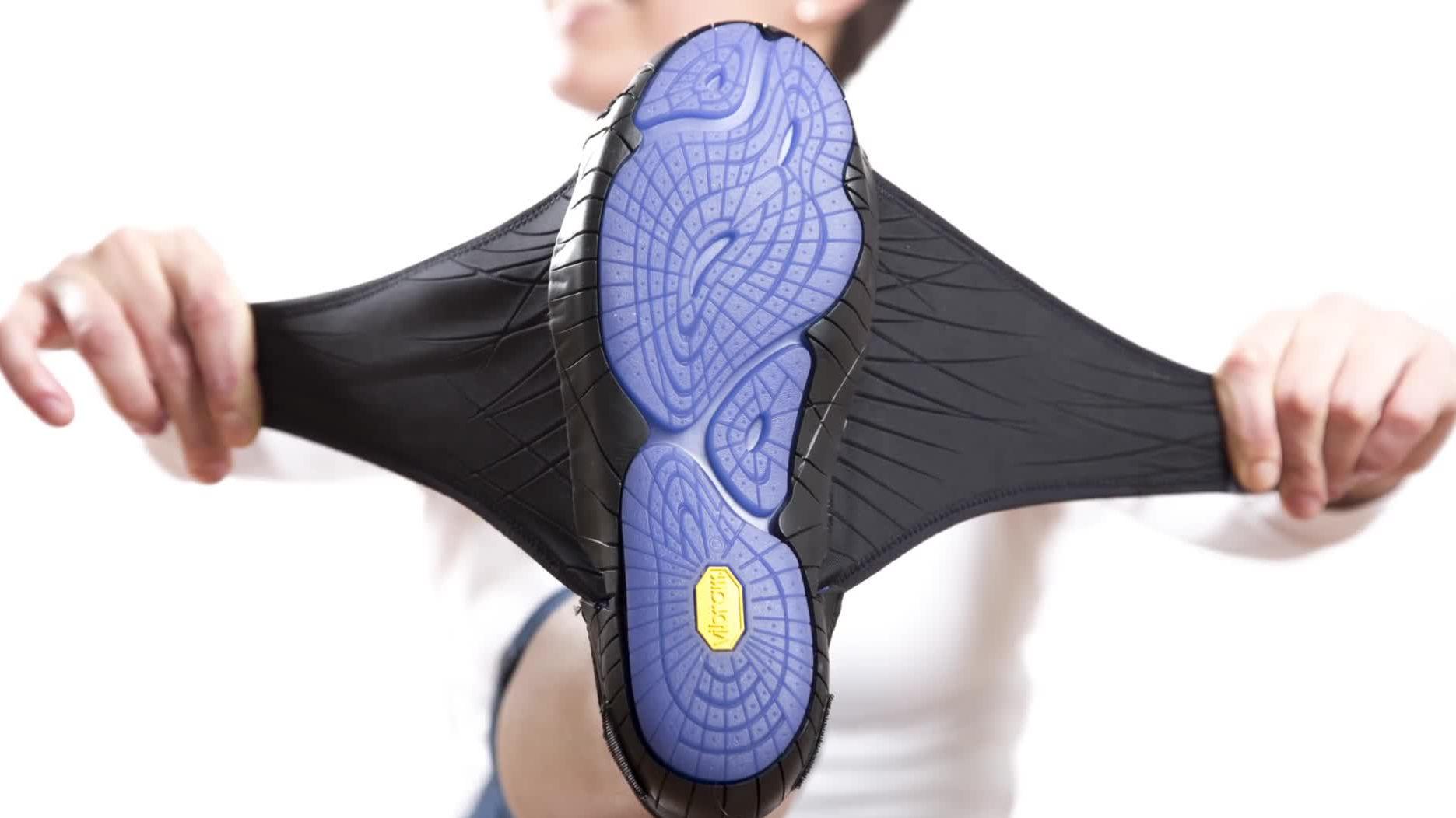 貼腳加防滑   Vibram Furoshiki 布包鞋行山必備