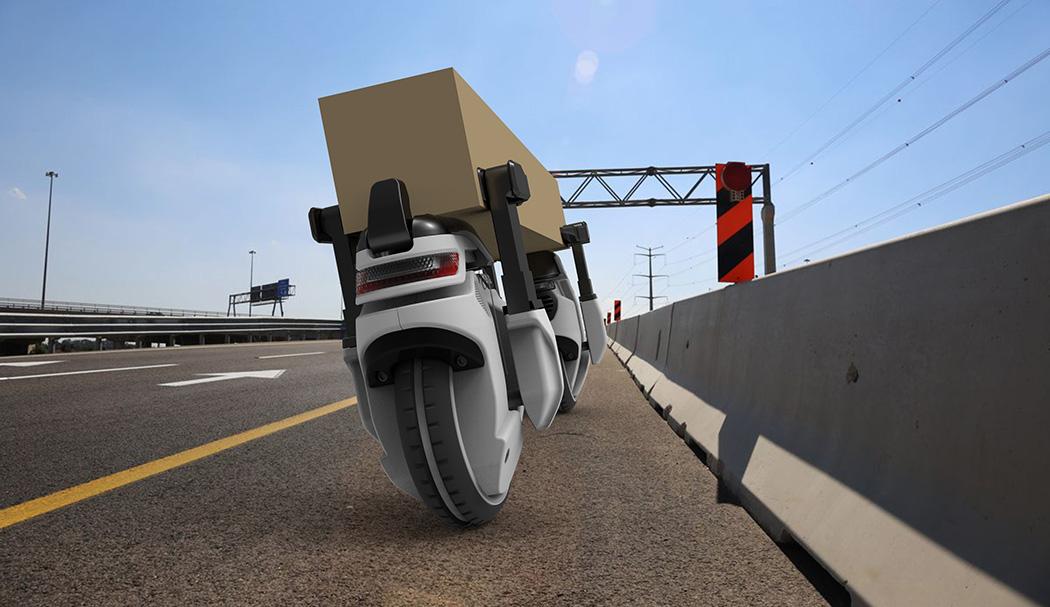 無人機器人 自動送貨   |邊睇誓不低頭邊收貨