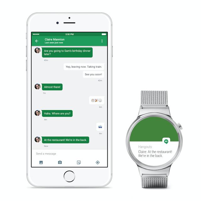 不讓Apple Watch專美 | Android Wear 支援iOS