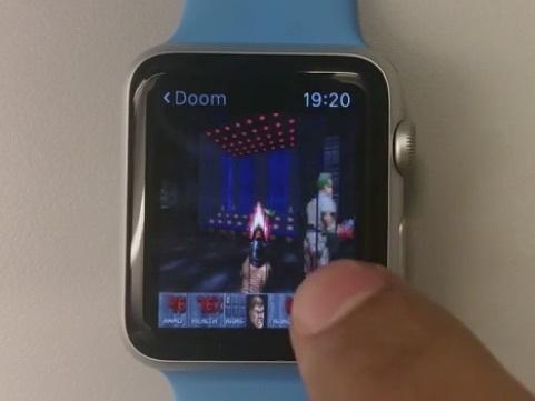 Apple Watch Doom 篤芒射 |移植遊戲可能性大增
