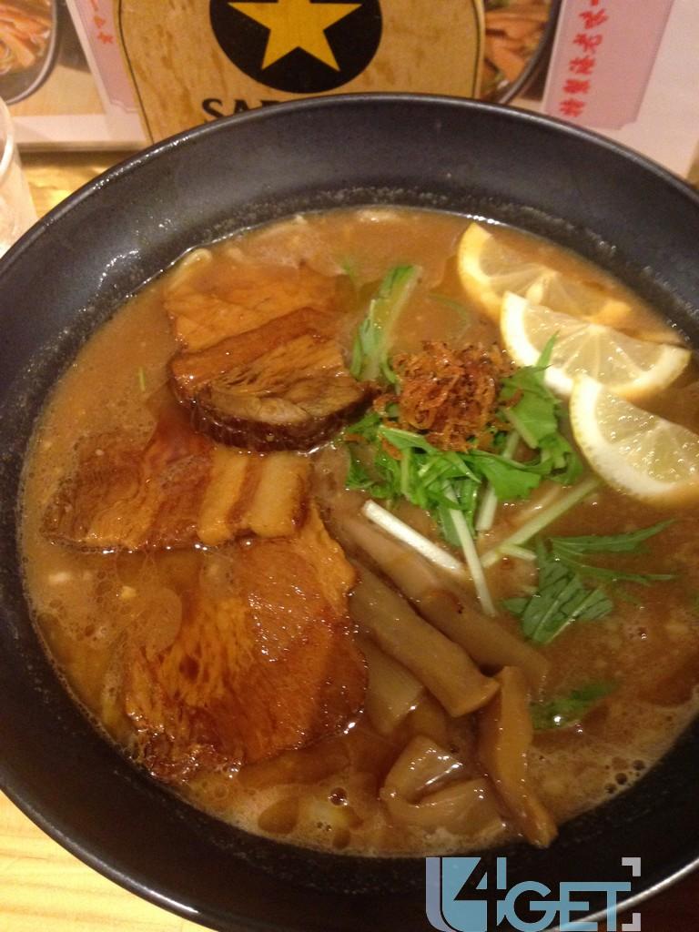 [遊日情報]大阪必食 |超濃味 蝦湯拉麵