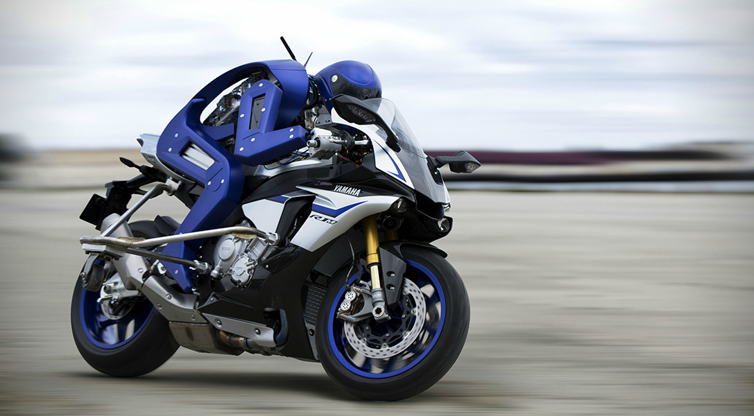電單車機械人 |自動狂飊時速過百