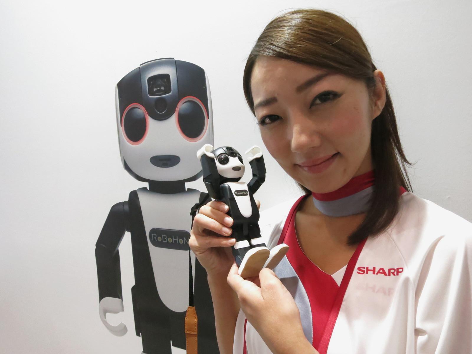 治癒系 機械人電話 |RoBoHoN影相鬧鐘投影機全兼任