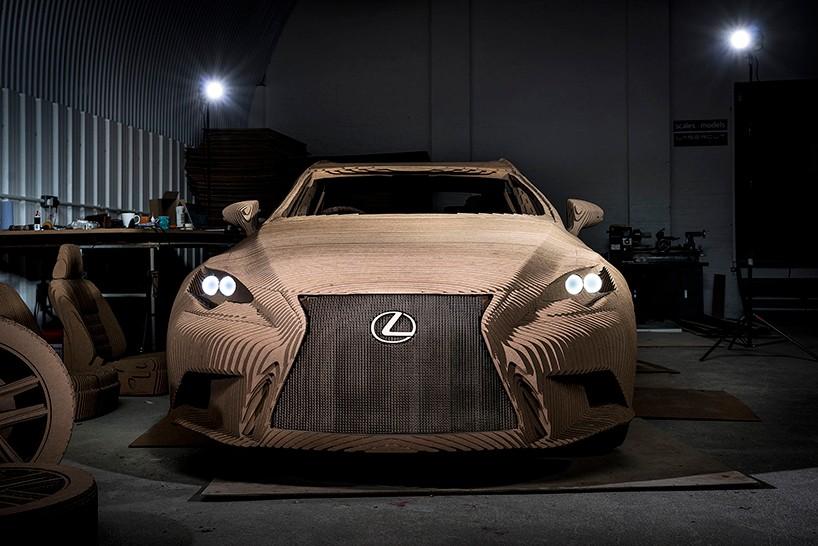 紙扎 1:1 Lexus IS  | 行得揸得 燒絕對不捨得