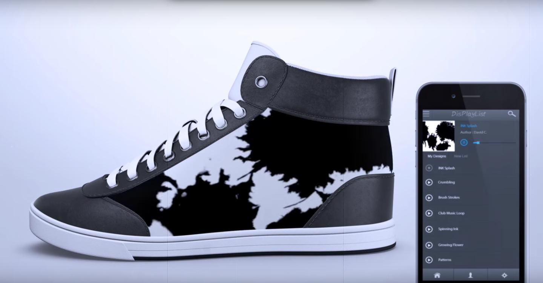 潮爆彩色 e-ink 波鞋 | 變全球獨有動漫、電影特別版?