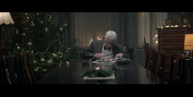 老人發葬禮邀請陪聖誕  | Edeka 另類聖誕廣告你受嗎?