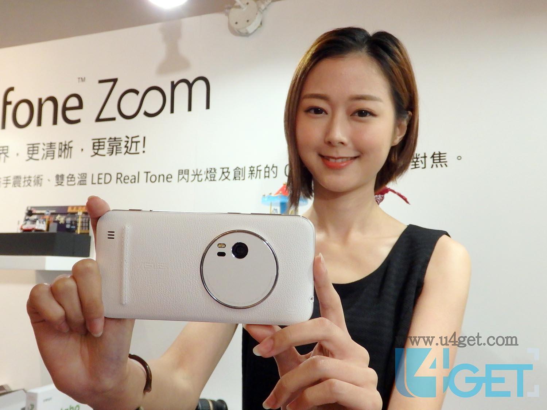 卡片機滅亡先兆?  ZenFone Zoom 最薄 3 倍光學變焦手機