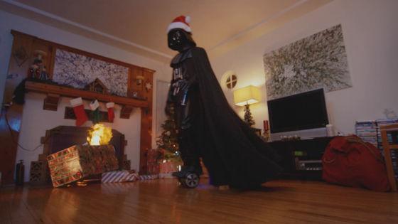 黑武士過聖誕 |原力搗亂轟爆地球