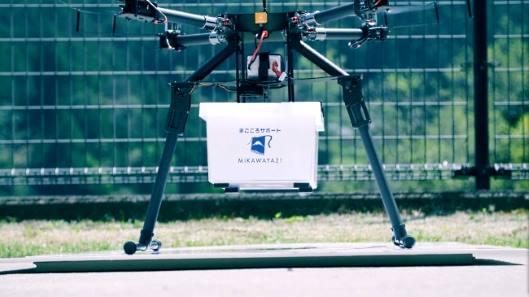 日本試行無人機送貨 | 先為老人偏遠地區服務
