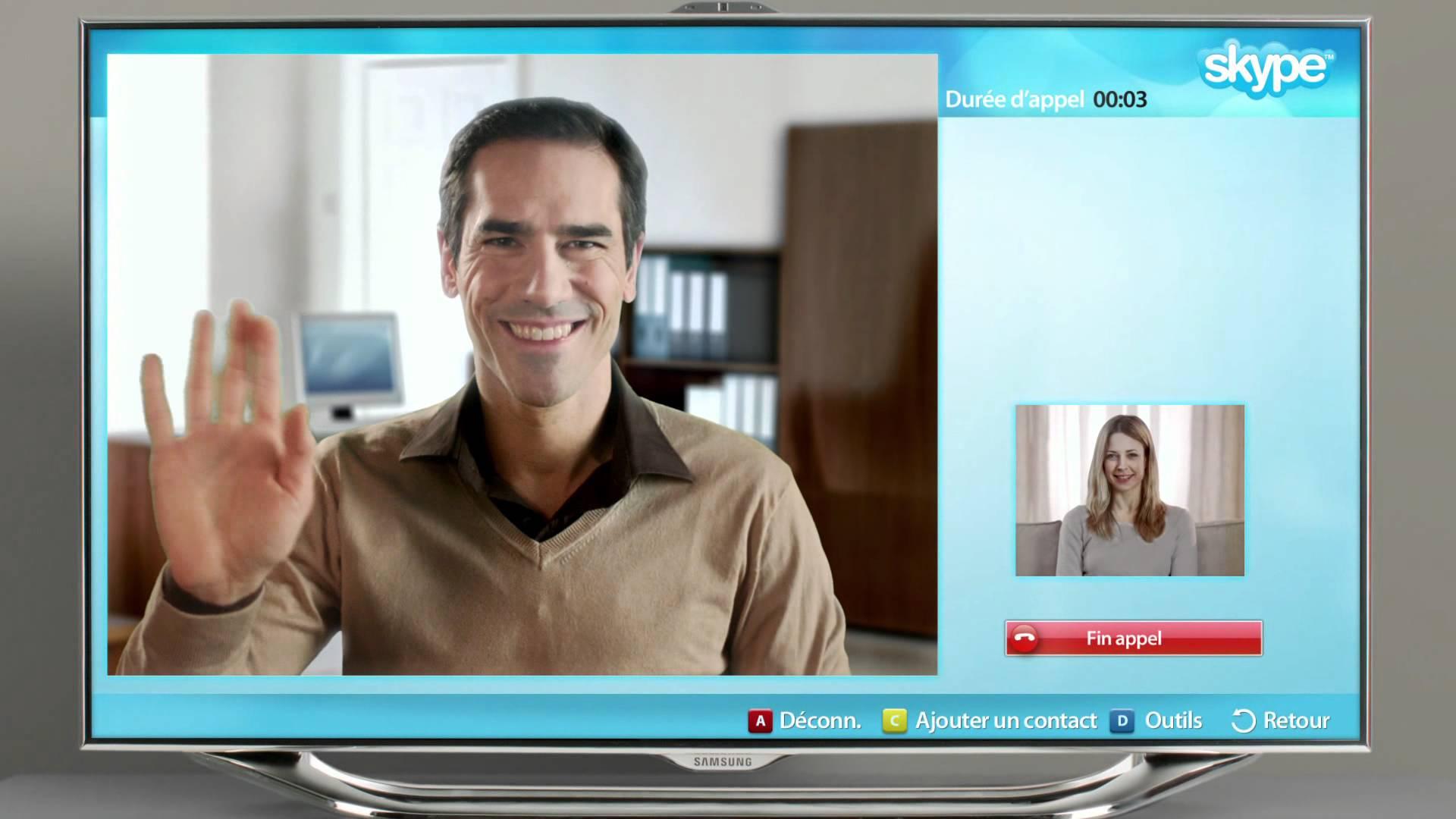 電視視頻傾長途 | Skype for TV 無得玩