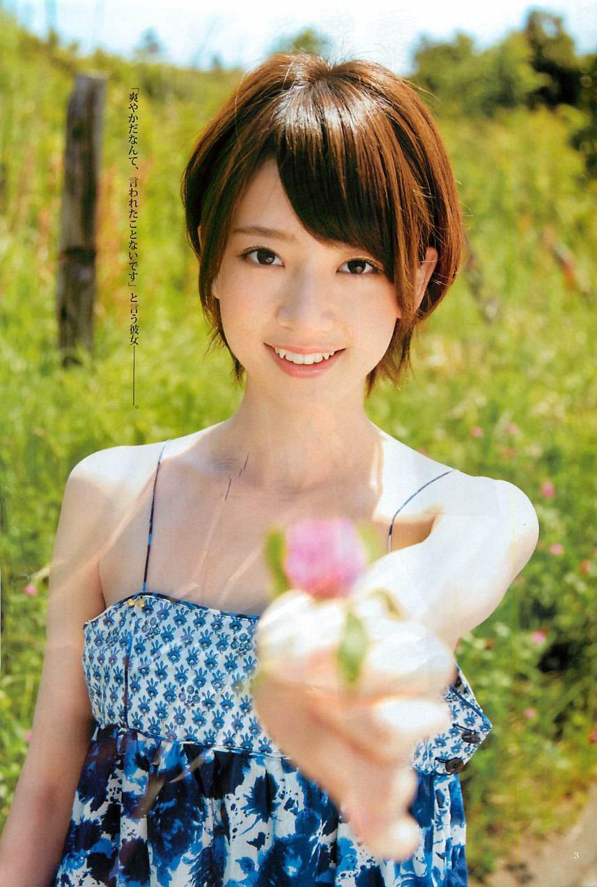 AKB48 清純短髮女神  橋本奈奈未