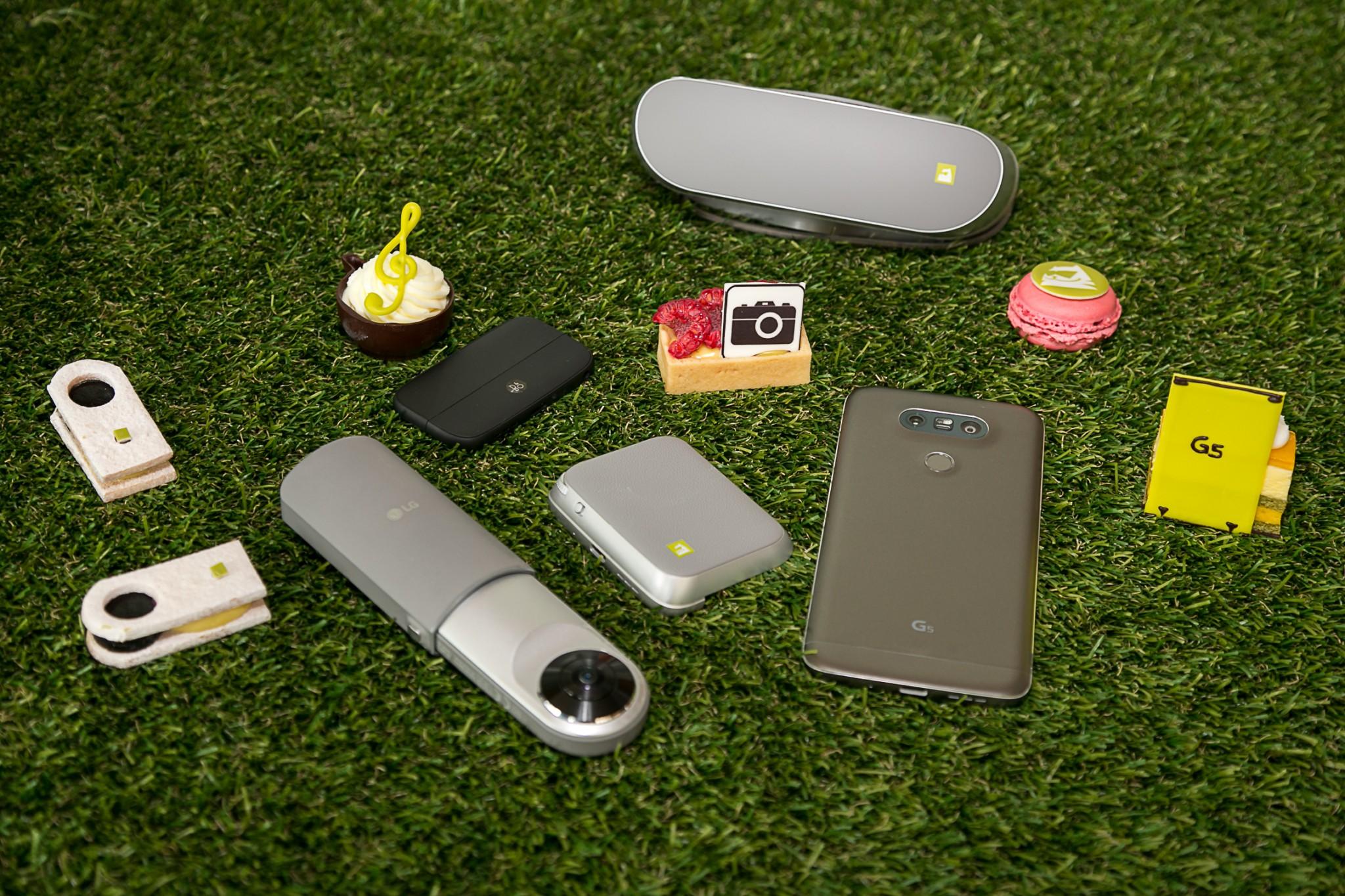 LG G5  x JW 萬豪主題下午茶自助餐食「 電池檸檬撻 」