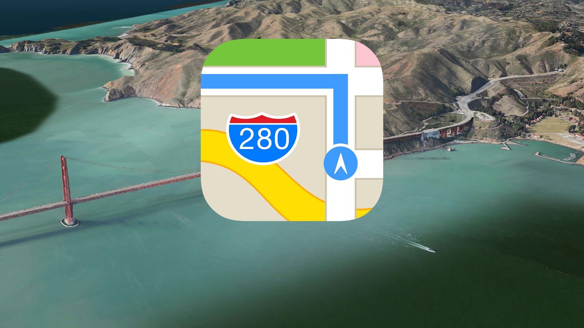 巴西奧運分杯羮 Apple Maps  推奧運交通路線